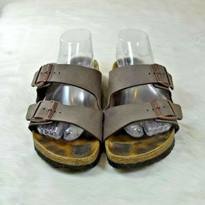 Birkenstock Arizona Mocha Birko-Flor Sandals
